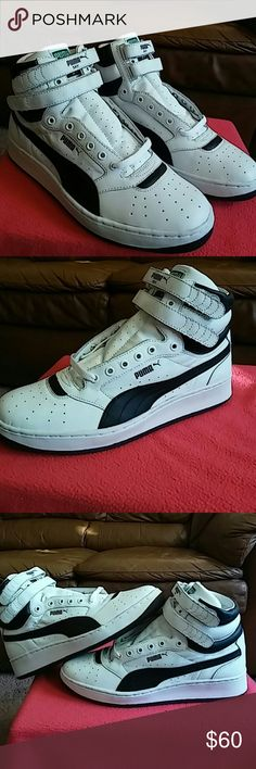 New PUMA SKY II HIGH..MEN size 10.5 and WOMEN 12 Brand New without original box. Never used or tried on. Purchased for $91 including tax. Your gain my loss!.. 200% Authentic puma product. Puma Shoes Sneakers