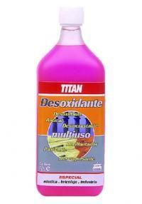 Καθαριστικό Σκουριάς Πολλαπλών Χρήσεων Desoxidante TITAN Vodka Bottle, Drinks, Drinking, Beverages, Drink, Beverage