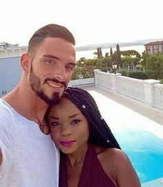 "@Regrann from @localinterracialsingles  -  ""I met my husband John 5 years ago and I've been madly in love since I first laid eyes on him"