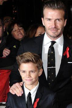 Romeo Beckham und Papa David http://www.stylebook.de/stars/Romeo-Beckham-schlaegt-Papa-David-auf-GQ-Best-Dressed-Liste-589775.html