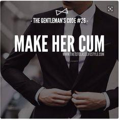 Gentleman code