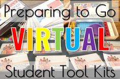 As we are preparing to go virtual, check out students kits I am creating for students. This will be making hands on learning a MUST for my learners.