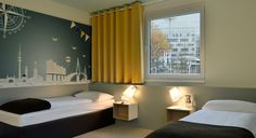 Barrierefreies Zimmer im B&B Hotel Hamburg-Nord