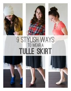 9 Ways to Wear a Tulle Skirt