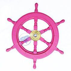 "Deluxe Premium 18"" Nautical Pink Ship Wheel - Nursery Dec... http://www.amazon.com/dp/B01FJJ88K0/ref=cm_sw_r_pi_dp_MVEoxb16021RP"