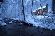 Gorgeous Blue Ridge Cabins in the Snow