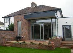 Semi Detached, Detached House, Lean To Conservatory, Conservatory Ideas, Dublin House, Aluminium Windows, House Extensions, Townhouse, House Plans