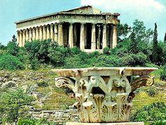 Καταστροφες Αρχαιων Ναων και ποιες Εκκλησιες χτιστηκαν πανω τους