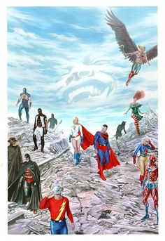 The Justice Society of America by Alex Ross