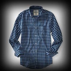 Aeropostale メンズ シャツ エアロポステール Long Sleeve Gingham Plaid Woven Shirt Shirt シャツ-アバクロ 通販 ショップ-【I.T.SHOP】 #ITShop