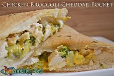 Chicken Broccoli Cheddar Pocket Recipe - Full Cooking - Full Cooking