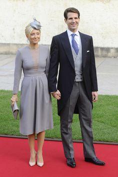 Boda Real de Luxemburgo. Pablo y Marie Chantal de Grecia