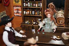 dollhouse western saloons | Western Saloon | Flickr - Photo Sharing! | Dollhouse Miniature 1:12 S ...