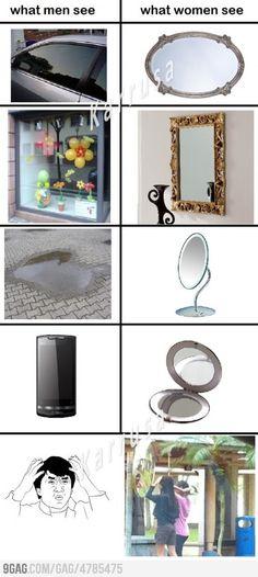 Mirrors..mirrors everywhere