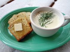 Hearty homemade soup and bread