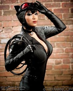 Check out these amazing pics of cosplay sensation Yaya Han as Catwoman, Wonder Woman, Jessica Rabbit, and more!