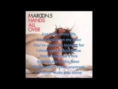 Get Back In My Life - Maroon 5 with lyrics on screen
