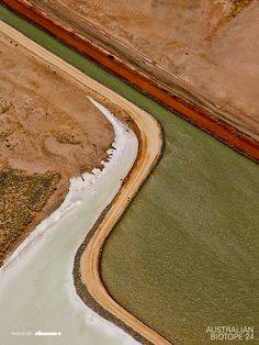 """Water Channel, Pilbara region, Western Australia"" by nikosono"