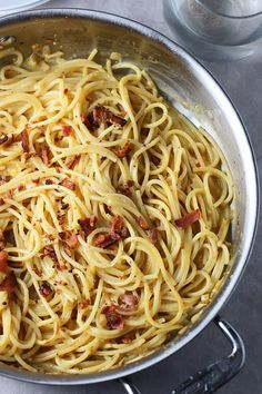 Pin for Later: 18 Fast and Easy Italian (and Italian American) Dinners Butternut Squash Carbonara Pureed butternut squash gives pasta carbonara an extracozy spin.