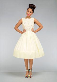 Vintage Ooh, Honey Honeymoon Dress   Mod Retro Vintage Vintage Clothes   ModCloth.com