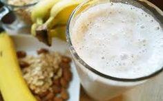 licuado de banana con avena