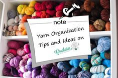 Organize Your Yarn Stash – Tips and Ideas on Crochtier.com!