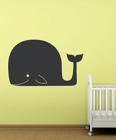 Take a look at this Whale of A Tale Chalkboard Wall Decal by Sissy Little on #zulily today!