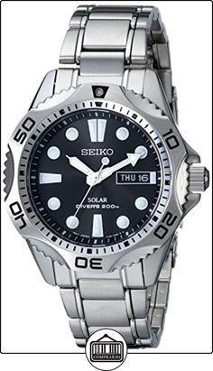 Seiko SNE107 - Reloj para hombres, correa de acero inoxidable color plateado de  ✿ Relojes para hombre - (Gama media/alta) ✿