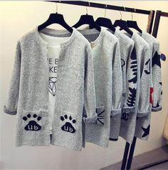 Cheap patterned cardigans, Buy Quality women sweater cardigan directly from China sweater cardigan Suppliers: 2017 Fashion Star Pattern Cardigans Female Sweaters Long Sleeve Knitted Slim Women Sweater Cardigan Knit Sweater Dress, Wool Cardigan, Long Sleeve Sweater, Sweater Cape, Long Sweaters, Warm Sweaters, Cardigans For Women, Star Fashion, Casual