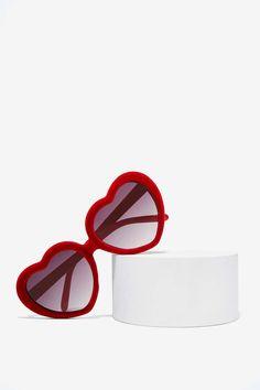 Lolita Velvet Shades #valentine #style #sunglasses #heart