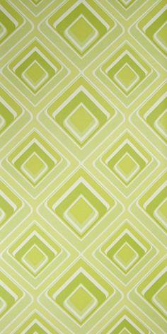 Tapete Vinyl Grün - Bild 1