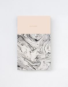 What a magnificent marble / 2014 Daily Planner Calendar in Marble/Pink