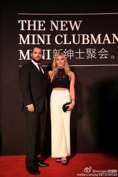 Henry Cavill & his girlfriend Tara King at car event in China