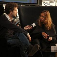 Interview: Zaha Hadid  at Dezeen Studio