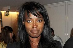 Lorraine Pascale - former model, now a chef, always cute, owns Ella's Bakehouse in London, was a victim of Twitter racism. Still loves Twitter, still hates racism.