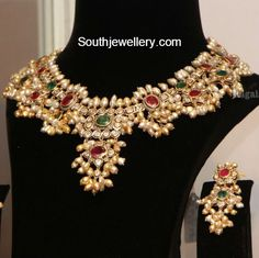 Jewellery Designs - Latest Indian Jewellery Designs 2015 ~ 22 Carat Gold Jewellery