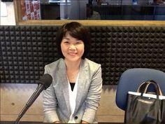 今日のアイタイムゲストは、伝筆先生の伊藤三枝子さんがいらっしゃいました!