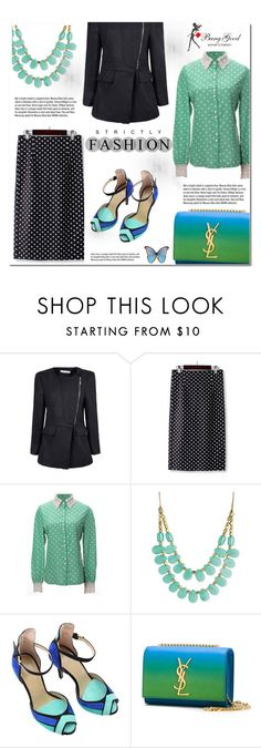 """""""Banggood #12"""" by cherry-bh ❤ liked on Polyvore featuring Zad, Garance Doré, Yves Saint Laurent, vintage and BangGood"""