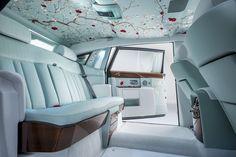 Rolls Royce Serenity,  seta dipinta a mano