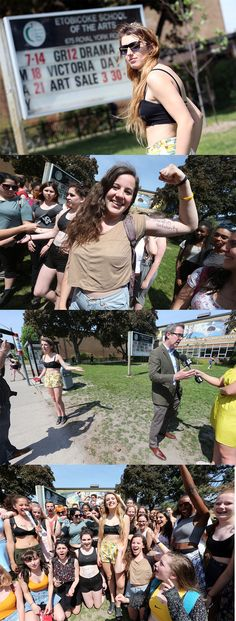 Toronto students organized 'Crop Top Day' to protest dress codes. Alexi Halket, an Etobicoke School of the Arts student, talks to the Star about her protest.
