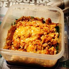 Rest day: Cheesy barbecue pulled chicken Calories: 421 Fat: 14 Carbs: 9 Protein: 63 #bodybuilding #lowcarb - the_beltsander @ Instagram Web Interface - 5th village