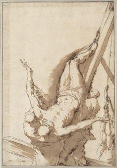 Jusepe de Ribera  Martyrdom of Saint Peter (ca. 1625-30)  Albertina, Vienna