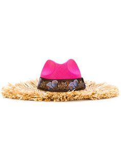 Etro frayed straw brim hat Brim Hat baac7a98ef43