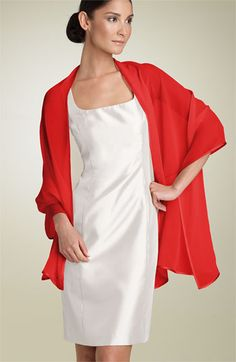 This would be great from moms, aunts, grandmothers.  Bernie of New York Silk Chiffon Wrap available at #Nordstrom
