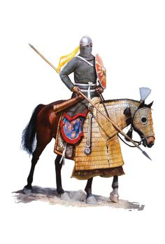 Sassanid Cataphract Cavalry, 5th-6th cent. A.D.