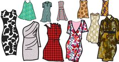 Pattern applications in fashion design
