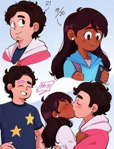 Young Adult Steven and Connie See more 'Steven Universe' images on Know Your Meme! Connie Steven Universe, Steven Universe Anime, Steven Universe Ships, Steven Universe Stevonnie, Universe Images, Universe Art, Universe Theories, Cartoon Ships, Cartoon Fan