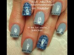 blue and silver conversation nails robin moses