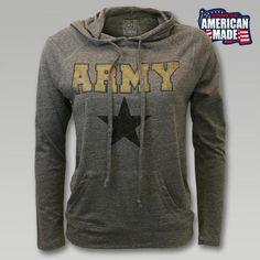 Official Army Women's Sweatshirts & Hoodies- Buy Licensed Army Women's Crewneck and Hooded Sweatshirts Online