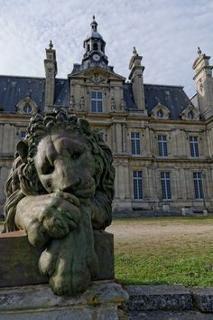 "The abandoned Castle Franconville (Château de Carnelle) located on the edge of the forest Carnelle, Saint Martin du Tertre in the Ile de France region of France. ""Repinned by Keva xo""."